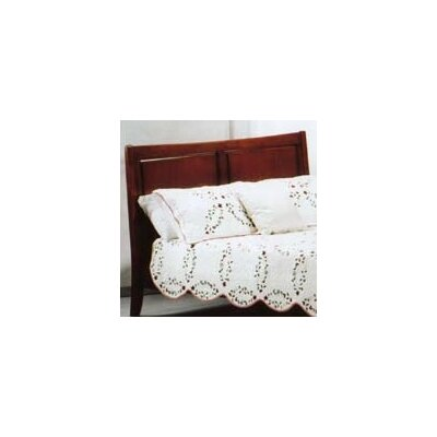 Spices Bedroom Panel Headboard Size: Queen, Color: White
