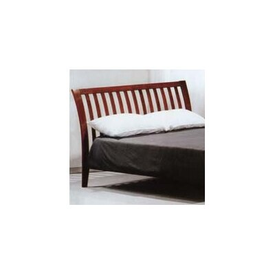Spices Bedroom Slat Headboard Size: King, Color: Cherry