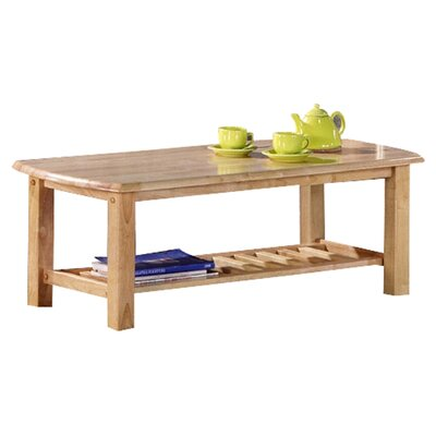 Standard Corona Coffee Table Finish: Natural