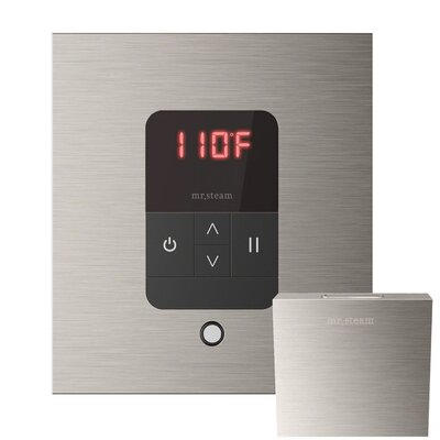 iTempo Square Thermostat Finish: Brushed Nickel
