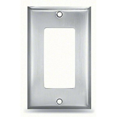 Designer Finish Plate for Towel Warmer Digital Timer Finish: Brushed Stainless Steel