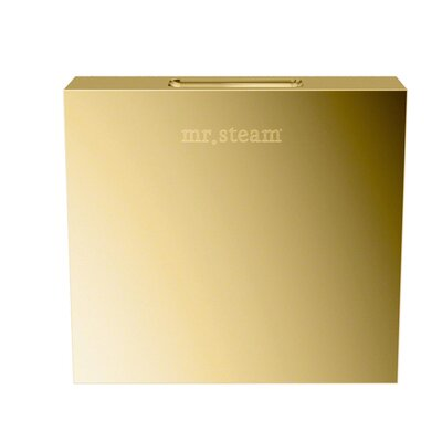Aromasteam Steamhead Finish: Polished Brass