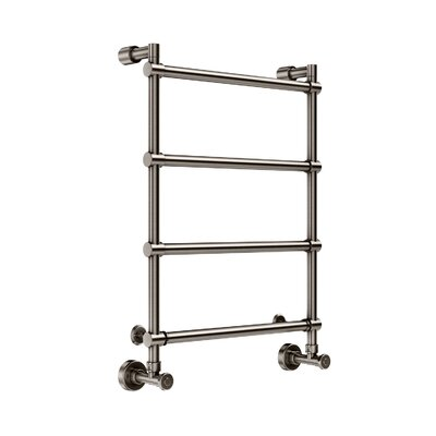 Wall Mount Hydronic Towel Warmer Finish: Brushed Nickel