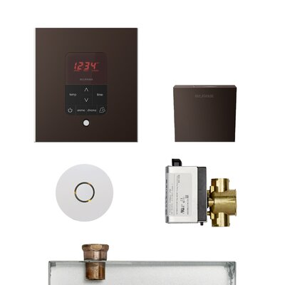 Residential Butler Accessories with Square Control Finish: Oil Rubbed Bronze