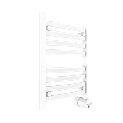 Wall Mount Electric Towel Warmer Finish: White, Size: 20 H x 16 W x 4.375 D