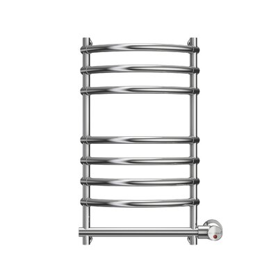Wall Mounted Electric Towel Warmer Finish: Polished Chrome