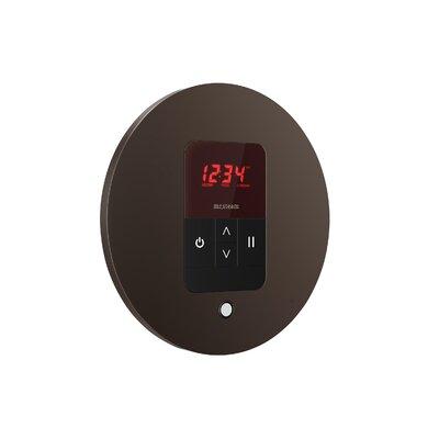 iTempo Round Thermostat Finish: Oil Rubbed Bronze