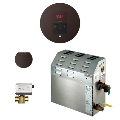 9kW Bath Steam Generator Package Finish: Oil-rubbed Bronze