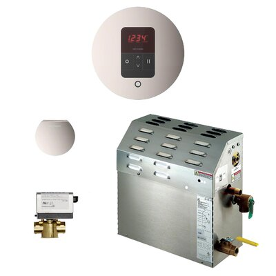 6 kW Bath Steam Generator Package Finish: Polished Nickel