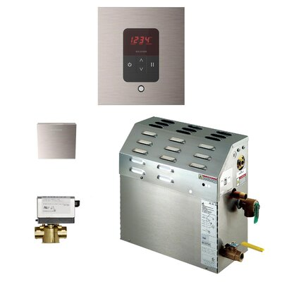 7.5 kW Bath Steam Generator Package Finish: Brushed Nickel