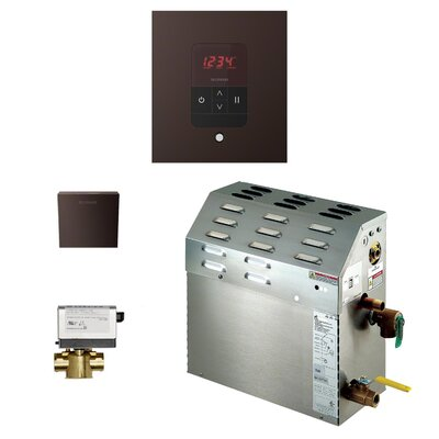 7.5 kW Bath Steam Generator Package Finish: Oil-rubbed Bronze
