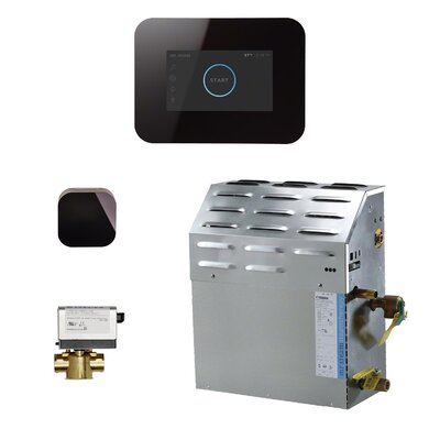 10 kW Bath Steam Generator Package Finish: Black
