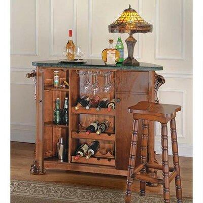 English Bar with Wine Storage