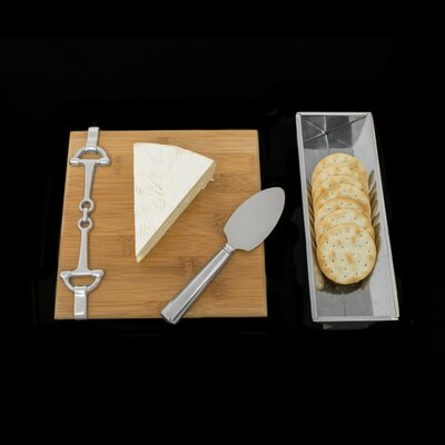 Equestrian 3 Piece Cheese Serving Set