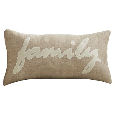 Richfield Jute Felt Lumbar Pillow