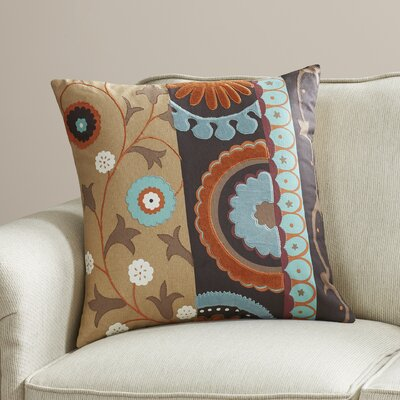Unia Cotton Duck/Voile Throw Pillow