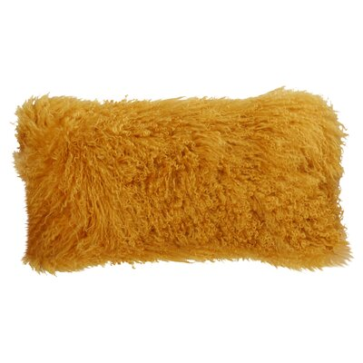 Valmont Lumbar Pillow Color: Gold