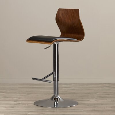 Jarvis Adjustable Height Swivel Bar Stool