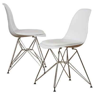 Dreer Eiffel Side Chair Color: White
