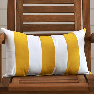 Dazelle Striped Indoor/Outdoor Lumbar Pillow