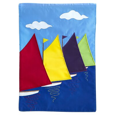 Glover Sail Boats Vertical Flag