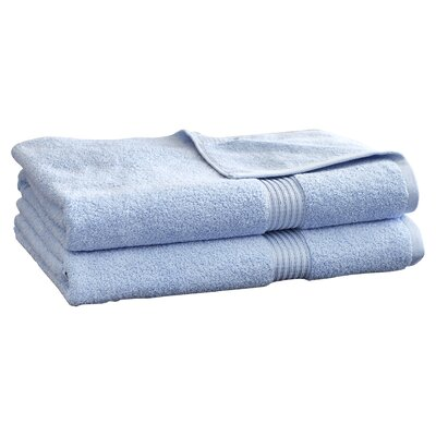 Patric 2 Piece Bath Sheet Set Color: Light Blue