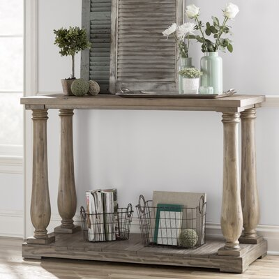Airelle Console Table Color: Weathered Pine
