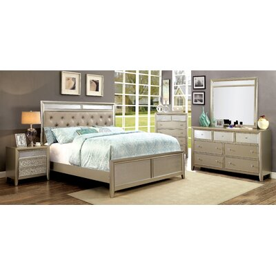 Antigore Upholstered Platform Bed Size: King
