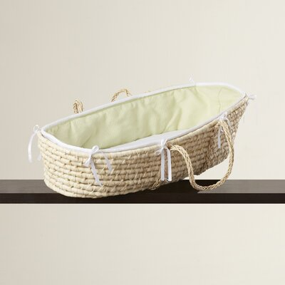 Leman Moses Basket with Waffle Bedding VVRO2550 28234834