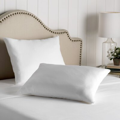 Wayfair Basics Cotton Zippered Pillow Protector Size: Standard
