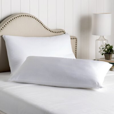 Wayfair Sleep Cotton Zippered Pillow Protector Size: King