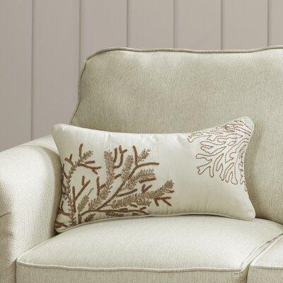 Yearsley Cotton Duck Lumbar Throw Pillow