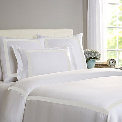 Chopin Duvet Size: Queen, Color: White / Ivory