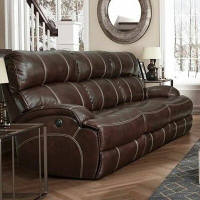 Barcla Casual Comforts Power Leather Sofas