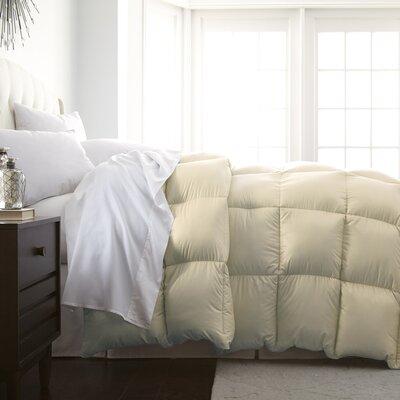 Veedersburg Luxurious Premier Quality Down Alternative Comforter Color: Ivory, Size: King