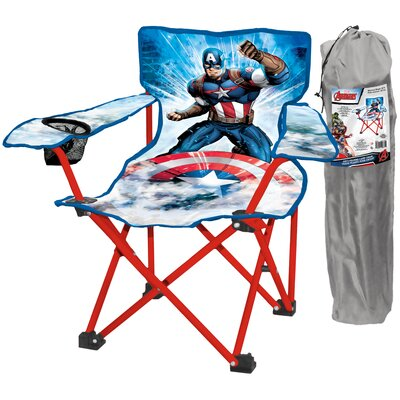 Captain America 2 Piece Kids Camping Chair Set 24371