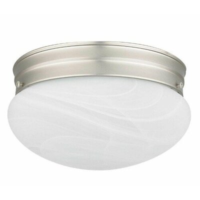 Elby 1-Light Flush Mount Size: 6 H x 10 W x 10 D