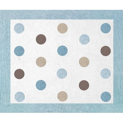 Mod Dots Collection Floor Rug Rug Size: 26 x 3
