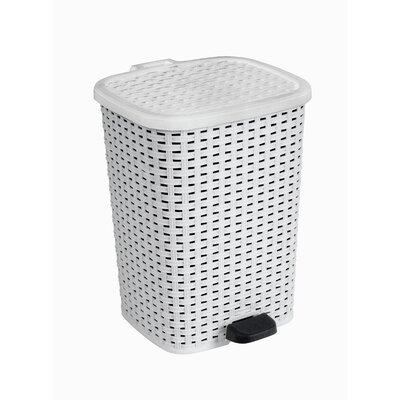 Plastic 3.1 Gallon Step On Trash Can 311