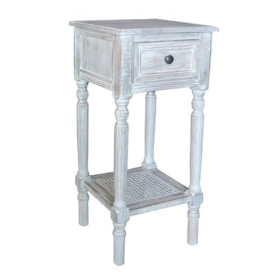End Table With Storage� Color: Winter Melody
