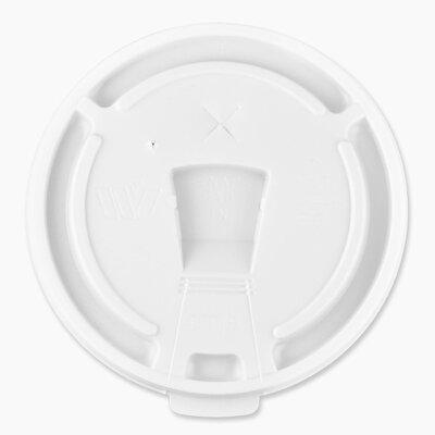 12oz-16oz Hot/Cold Cup Lids, White GJO58555