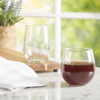AllModern Essentials Stemless Wine Glass (Set of 12)