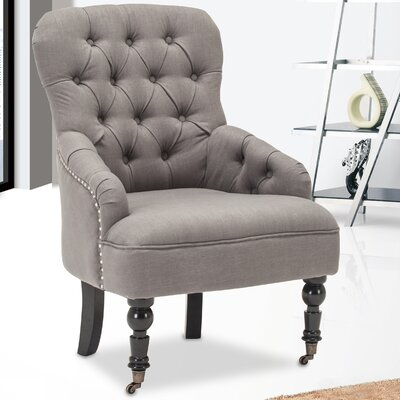 Club Chair Color: Gray