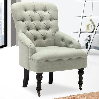Club Chair Color: Light Green