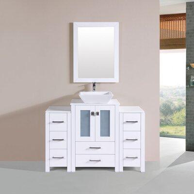 Lyn Modern 48 Single Bathroom Vanity Set