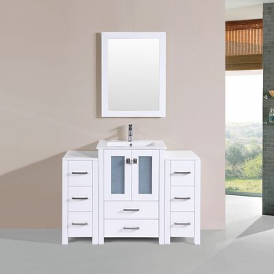 Lyn Modern 48 Single Bathroom Vanity Set