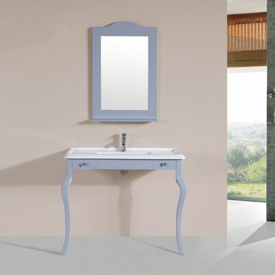 Buswell 40 Single Traditional Bathroom Vanity Set Base Finish: Gray