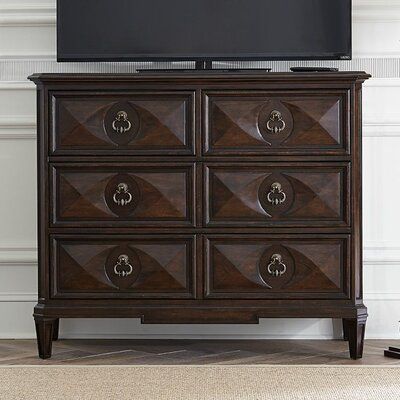 Casa DOnore 4 Drawer Media Chest
