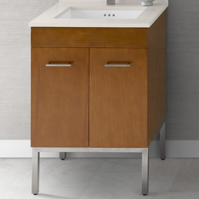 Venus 23 Single Bathroom Vanity Base Base Finish: Cinnamon