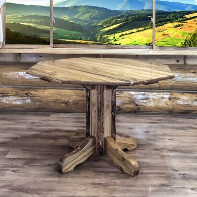 Glacier Country Center Pedestal Dining Table